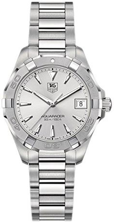 3df9d75397e2b TagHeuer Women s WAY1353.BD0917 300 Aquaracer Diamond-Accented Two ...