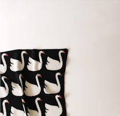 Eco Swan Baby Blanket - Spearmint LOVE