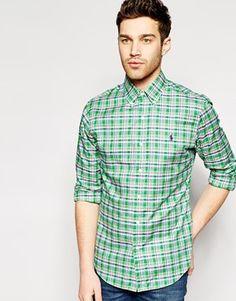 Polo Ralph Lauren Shirt in Slim Oxford Check