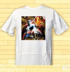 Cheap Avanger Captain America Poster image T-Shirt