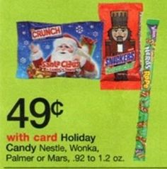 Walgreen's: FREE Mars Holiday Candy (Last Day!)