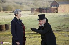 Doctor Who. The Doctor gets in a Bootstrap Paradox in Before the Flood. Doctor Who Season 9, Doctor Who Series 9, Doctor Who 12, 12th Doctor, Twelfth Doctor, Peter Capaldi Doctor Who, Minority Report, Before The Flood
