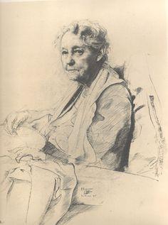 Wonderful Website, loads of studies to read!! surface fragments: Pietro Annigoni: Portrait Masterclass