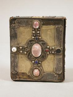 By Julie Somers While browsing images of medieval treasure bindings, I noticed that one example I was looking at was not actually a book at all.  In fact, it was an ornamented wooden case made to c…