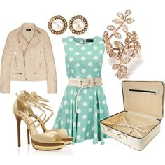 Polka Dots, created by allieduncan on Polyvore
