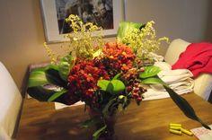 boeket gemaakt bij bloem