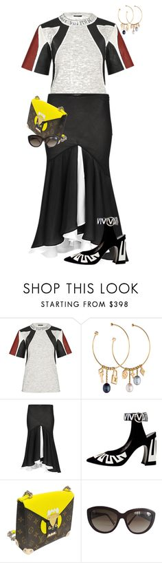 """LOUIS VUITTON - PFW"" by celsoromera on Polyvore featuring moda, Louis Vuitton e louisvuitton"