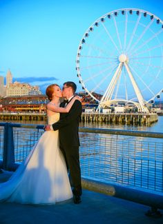 A Seattle wedding photo taken by Crozier Photography