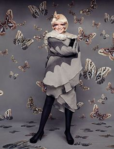 For real... a moth costume~ How cute!!!