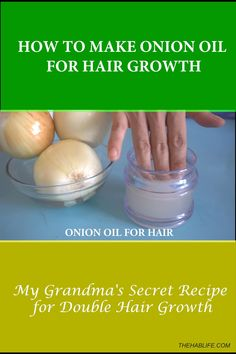 HOW TO MAKE ONION HAIR OIL FOR FASTER HAIR GROWTH AND STOP HAIR FALL | HOME REMEDIES FOR HAIR GROWTH