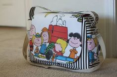 Snoopy and Peanuts gang bag collection... Share your Snoopy collection at Charlie Brown Cafe, Orchard Cineleisure fan club