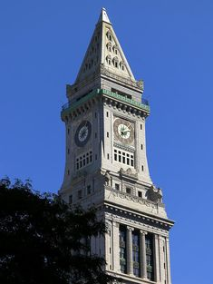 Custom House Tower Photograph  - Custom House Tower Fine Art Print