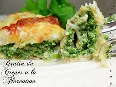http://amourdecuisine.over-blog.com/article-gratin-de-crepes-a-la-florentine-99237676.html      spinach