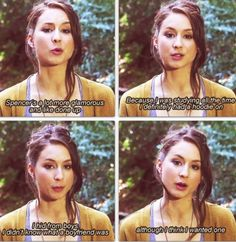 Troian Bellisario on being Spencer Hastings - Pretty Little Liars <------- That awkward moment when you realize you are more closely related to Troian than spencer