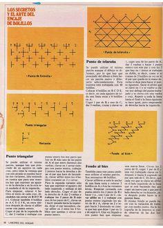 Aprender Encaje de Bolillos para principiantes - Mary Moya - Álbumes web de Picasa