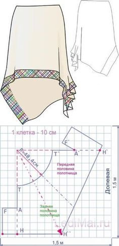 Sewing skirts patterns patrones new Ideas Sewing Dress, Skirt Patterns Sewing, Sewing Patterns Free, Sewing Clothes, Sewing Tutorials, Clothing Patterns, Pattern Skirt, Dress Tutorials, Coat Patterns