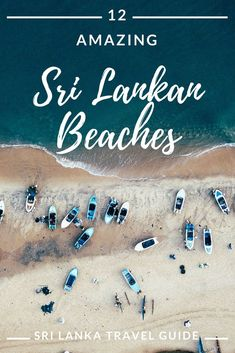Discover Sri Lanka's best beaches. #beach #paradise #travel