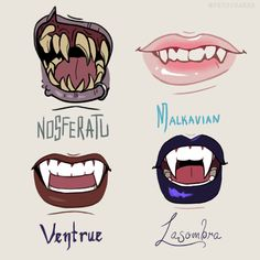 Some doodles- was thinking it would be cool if each of the VtM Bloodlines had a unique set of fangs/teeth! Mostly an excuse to try out drawing some funky fangs. Teeth Drawing, Smile Drawing, Face Drawings, Random Drawings, Vampire The Masquerade Bloodlines, Vampire Masquerade, Character Inspiration, Character Art, Character Design