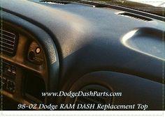 DODGE Ram Dash Board Replacement TOP Fits 98-01 1500 & 98-02 2500,3500 Series http://www.DodgeDashParts.com 954-261-3042