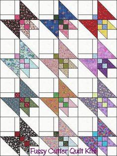 Butterfly Quilt Block Patterns, Pattern Blocks, Quilt Blocks, Small Quilts, Mini Quilts, Quilting Projects, Quilting Designs, Butterfly Quilt, Animal Quilts