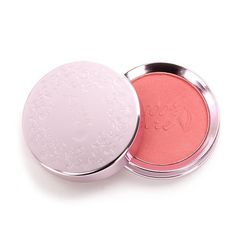100% Pure Mimosa Fruit Pigmented Blush Powder (39 CAD) ❤ liked on Polyvore featuring beauty products, makeup, cheek makeup, blush, pink, pink blush, shimmer blush and pink shimmer blush