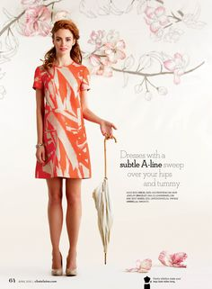 Subtle A-line sweep over your hips and tummy. Nude pump. | Chatelaine