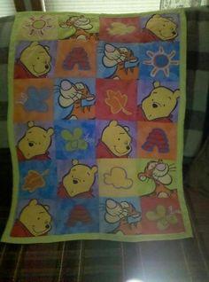 Winnie the Pooh - Baby Quilt