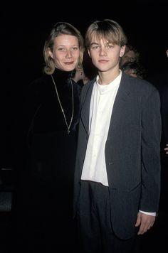 Gwyneth Paltrow: A young Leonardo DiCaprio and Gwyneth Paltrow posed ...