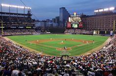 Oriole Park at Camden Yards Baseball Park, Baseball Buckets, Chicago Cubs Baseball, Baltimore Orioles Baseball, Baseball Field, Baltimore Inner Harbor, Baltimore Waterfront, Camden Yards, Stadium Tour