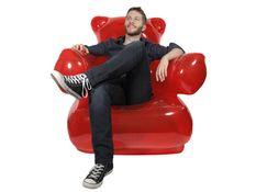 Home & Gardening - Inflatable Gummy Bear Chair, The armchair for the candy lover!