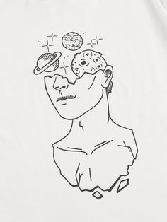 Space Drawings, Cool Art Drawings, Pencil Art Drawings, Art Drawings Sketches, Cool Sketches, Tattoo Sketches, Tattoo Drawings, Tumblr Drawings, Tattoo Art
