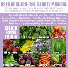 The benefits of silica are endless,I'm in love!!!