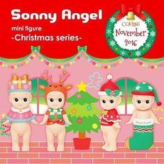 Passez de belles fêtes avec les Sonny Angel noël 2016.
