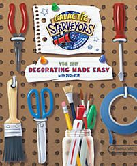 "Get the ""VBS 2017 Decorating Made Easy"" book."