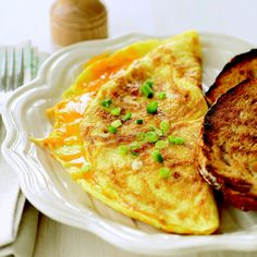 Classic Cheese Omelet - you can't go wrong with this one