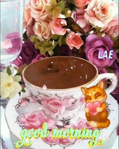 Morning Coffee Images, Good Morning Coffee Gif, Good Morning Happy Saturday, Good Morning Breakfast, Good Morning Images Flowers, Latest Good Morning, Good Morning Greetings, Good Morning Good Night, Good Morning Quotes