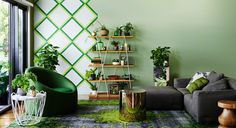 Earthwerks - Dulux Australia Earthwerks explores our desire to have greenery in our homes and workspaces. The urge to get our hands dirty, to create things from scratch and to be aware of the source of our food drives this trend. A palette drawn from greens and mineral hues creates spaces where mimicked or real nature blends seamlessly with future interiors.