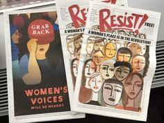 Where To Get Your Copy Of RESIST!, The Anti-Trump, Pro-Female Comic Published For The Inauguration