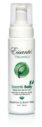 Baby Foam - 100% certified toxic free that can be used as a shampoo, soap, bubble bath, or shower foam. http://yourorganicbrand.com