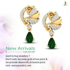 Shop your favorite because sale is on - Participate in instagram and get a voucher - Not sure about how it will look on you ?? Don't worry, Take an appointment and visit us - Contact Us : +919978989842 - 10% off on all diamond jewellery  ‪#‎diamondjewellery‬ ‪#‎newcollection‬ ‪#‎lowestprice‬ ‪#‎lightweight‬ ‪#‎freeshipping‬ ‪#‎30daysreturn‬ ‪#‎lifetimeguarantee‬ ‪#‎certifiedjewellery‬ ‪#‎cashbackguarantee‬ ‪#‎diamondearrings‬ ‪#‎sale‬ ‪#‎onlinediamondjewellery‬ https://jewels5.com