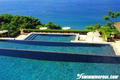 Tiered Negative Edge Swimming Pool | Swimmingpool.com