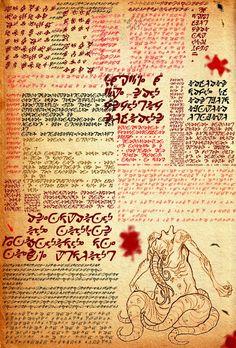 necronomicon pages printable - Google Search