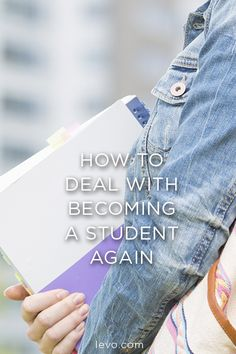 Going back to school is a big step but you can handle it... Advice from @chelseakrost!