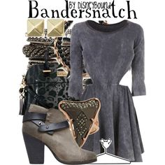 """""""Bandersnatch"""" by leslieakay on Polyvore"""