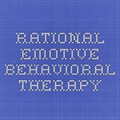 rational emotive behaviour therapy case study
