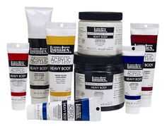 Liquitex High Viscosity Paint (can use for painting on fabric)