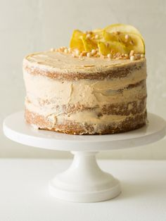 Apple and Thyme Cake with a Salted Caramel Buttercream - Spoon Fork Bacon (http://www.spoonforkbacon.com/2015/10/apple-and-thyme-cake-with-a-salted-caramel-buttercream/)
