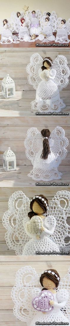 Crochet Angels- Handmade