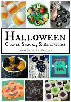Halloween crafts, sn