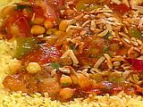 Morrocan chicken stew made this for dinner tonight and it was so good we served it over couscous but I think it would be great with quinoa also